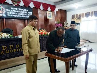 Dewan Sahkan Tatib DPRD dan Tatib Pilwali Sisa Masa Jabatan