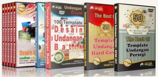 15 DVD Desain Undangan Pernikahan Komplit !!