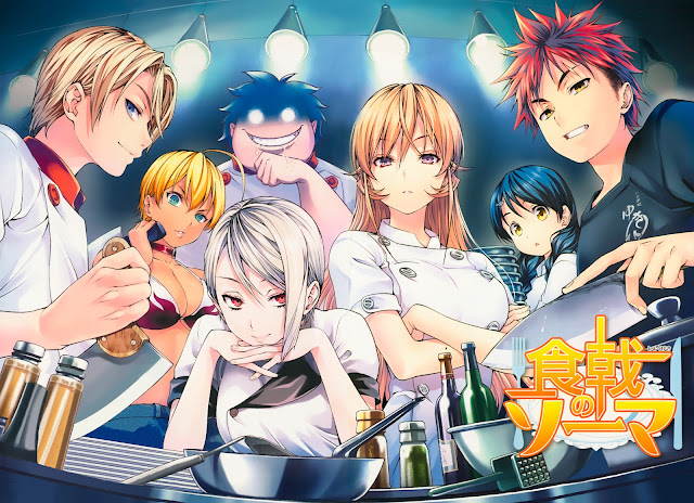 Manga Shokugeki no Souma terminará en 3 capítulos