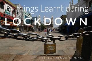 Lockdown info Data India
