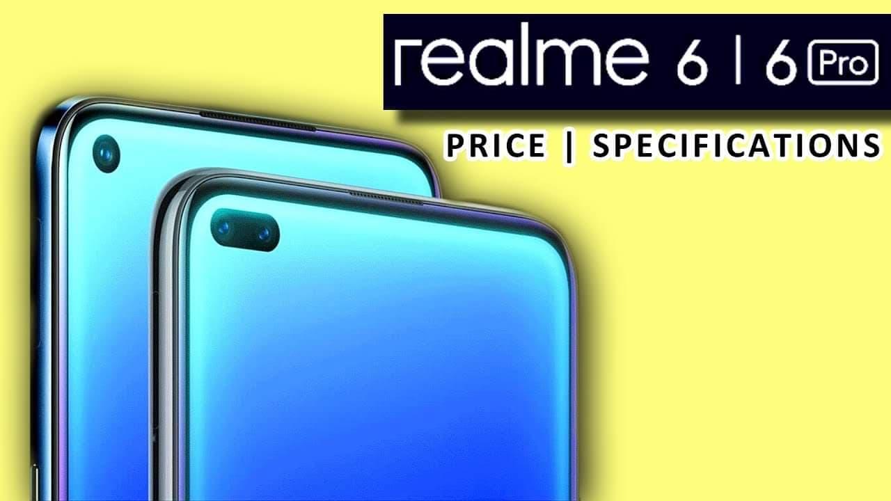 تسريبات حول هاتف  Realme 6 pro