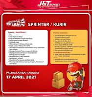 Lowongan J&T Express Lampung terbaru 2021
