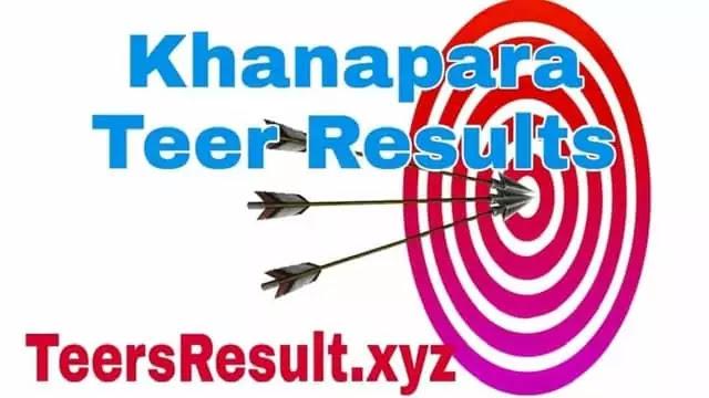 Khana para teer results