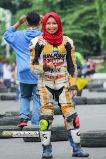 Egi Arista Prameswari : Lady Racer Karawang Yang Mulai Diperhitungkan