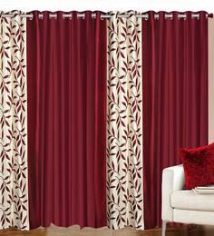 Cowboy Curtain Curtains Cowhide Cozy Cranberry