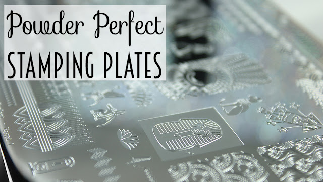 Powder Perfect Stamping Plates
