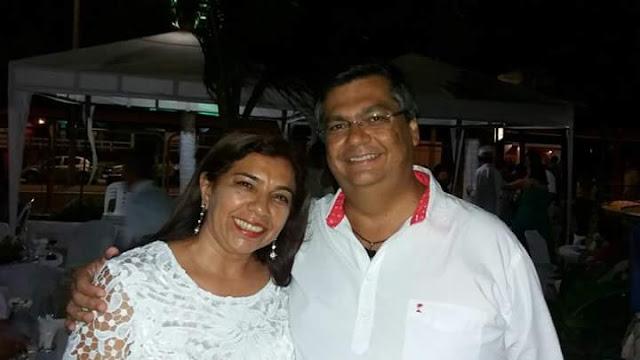 Drª. Meire Valéria com o governador Flávio Dino