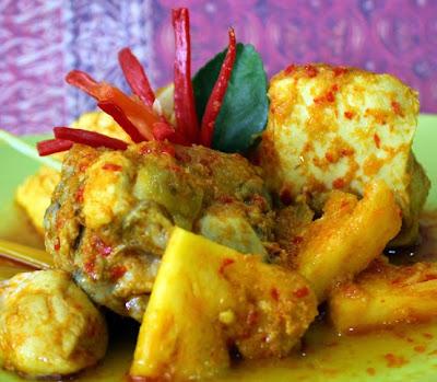 Bali Ayam Masak Nanas