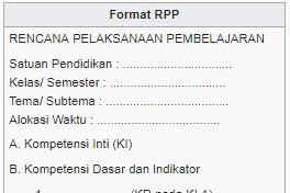 Pengertian RPP,Prinsip-Prinsip RPP Komponen dan Sistematik RPP dan Langkah Langkah Pengembangan RPP