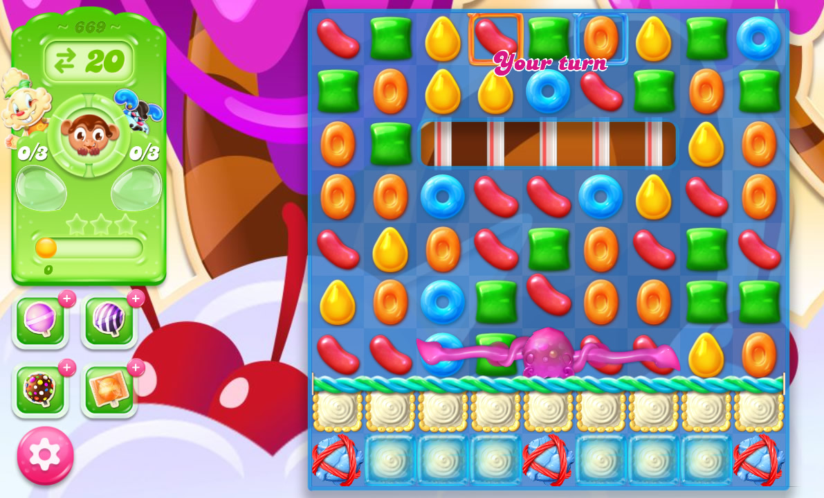 Candy Crush Jelly Saga level 669
