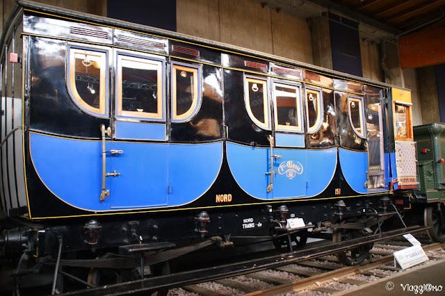 Mulhouse Museo Ferroviario - Esemplare di Carrozza