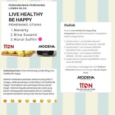 Live Healthy be Happy, Gaya Hidup Sehat Adaptasi New Normal Saat Pandemi Corona Nurul Sufitri Travel Blogger