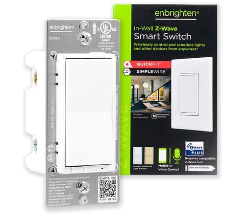 Enbrighten 46201 Z-Wave Smart Rocker Light Switch