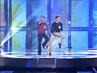 Naim y David Bisbal cantan Adoro OT reencuentro