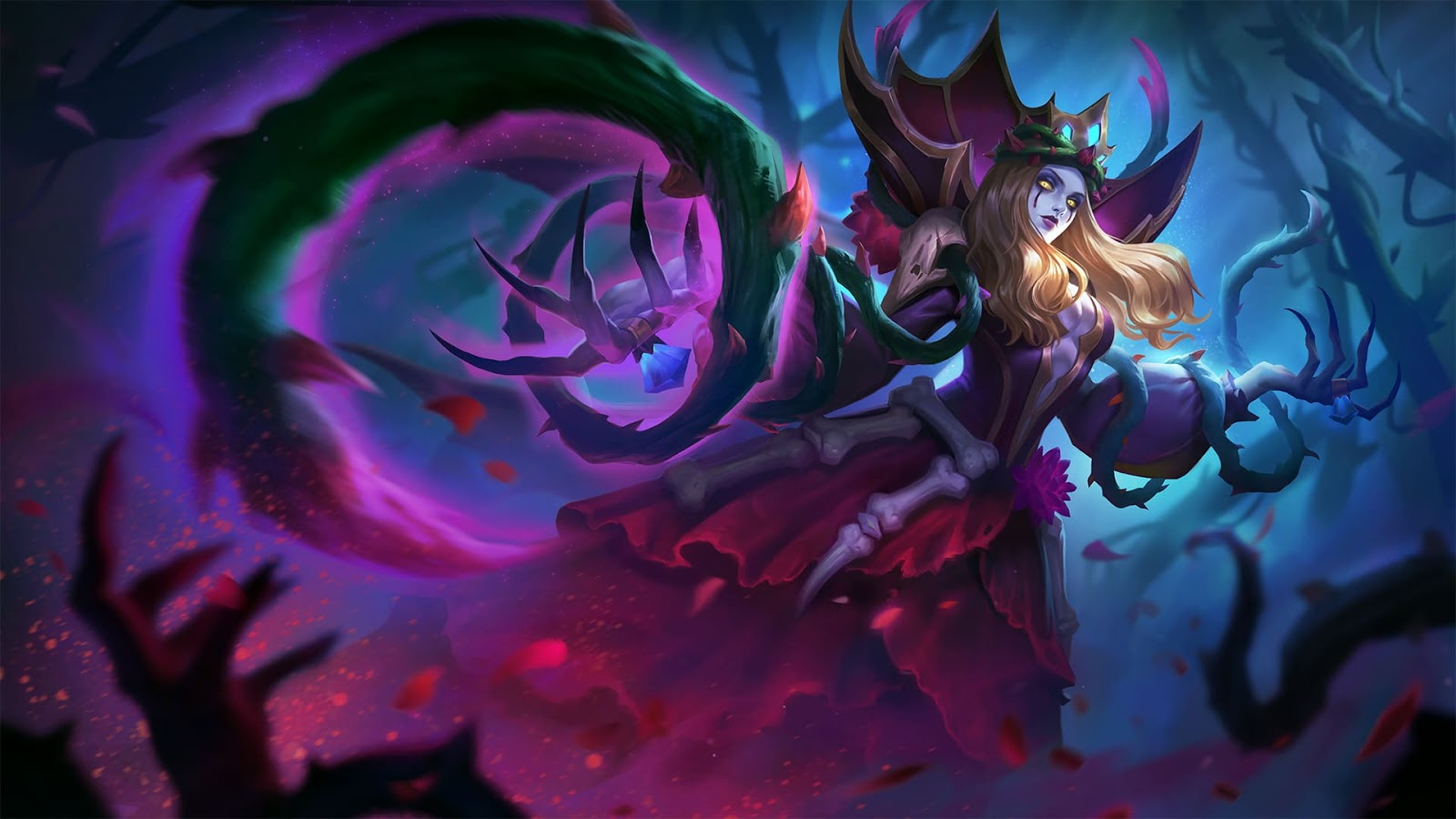 Wallpaper Vexana Sanguine Rose Skin Mobile Legends HD for PC