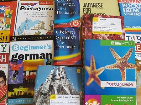books, language books