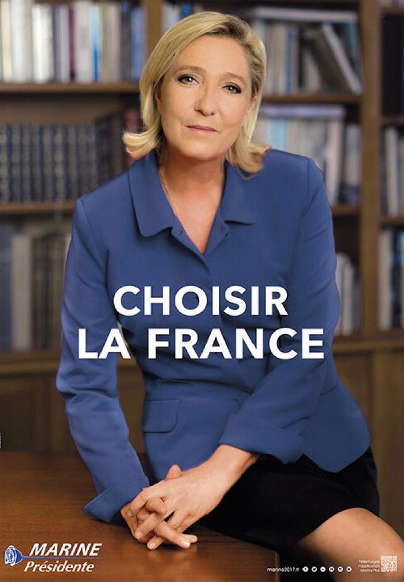 macron, le pen, science, po, politique, élection, présidentielle, france, 2017, campagne, chirac, sarkozy, hollande, françois, slogan