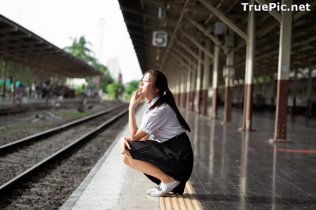 Image Thailand Model - Kornrawee Chokejindachai - Cute Student Girl - TruePic.net - Picture-9