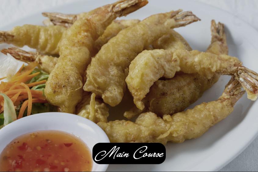 Air Fried Coconut Shrimps