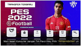 Download PES 2022 PPSSPP Indonesian Version CV1 Small Radar Name & New Update Transfer