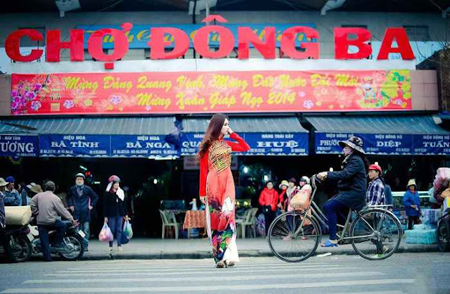 Chợ Đông Ba - nơi gửi gắm tinh hoa xứ Huế. (Ảnh: thuathienhue.gov.vn)
