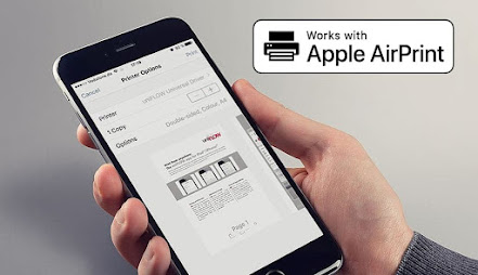 Work with Apple AirPrint