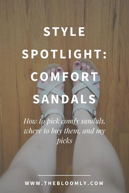 Style Spotlight: Comfort Sandals