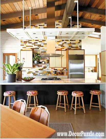 mid century modern kitchen, mid century modern kitchens