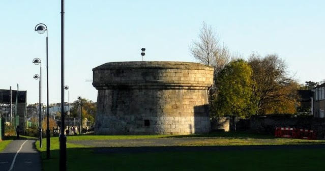 Dalkey to Killiney Hill walk and more: Martello Tower in Blackrock Dublin