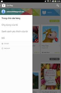 Hướng dẫn cách đăng ký tài khoản CH PLay trên điện thoại Android j