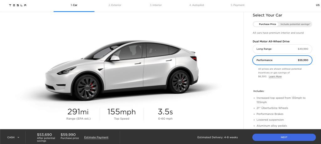 precio Tesla Model Y