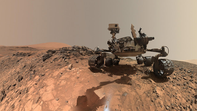 NASA scientists discover unexpected mineral on Mars