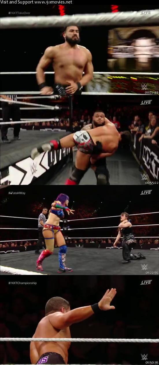 WWE NXT TakeOver San Antonio 28 Jan 2017 WEBRip 480p