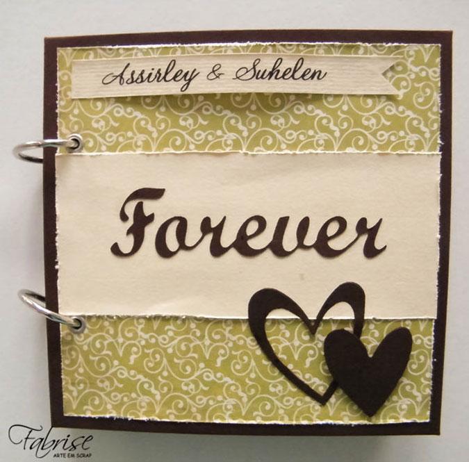 Mini Álbum Personalizado – Forever
