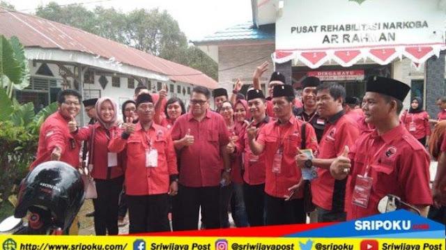 Pusat Rehabilitasi Narkoba Ar-Rahman, Kedatangan Ratusan Kader PDI Perjuangan