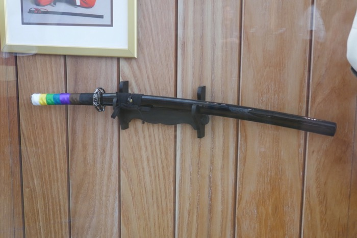 Art of Self-Defense katana prop