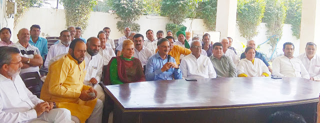 Every worker of Faridabad Inlo Party With the decision of Om Prakash Chautala - Devendra Chauhan