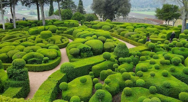 The Gardens at Marqueyssac, Vézac, France