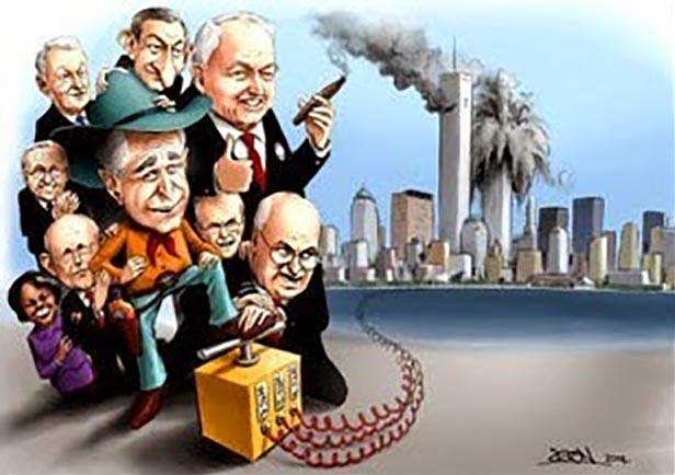 Resultado de imagem para 11 de setembro farsa