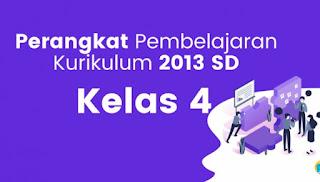 Download RPP 1 Lembar K13 Revisi 2020 Kelas 4 Semester 1
