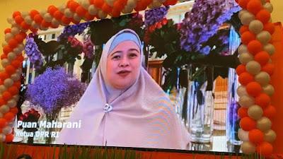 Ketua DPR RI Puan Maharani: Gubernur Don Olly Selamat Ulang Tahun