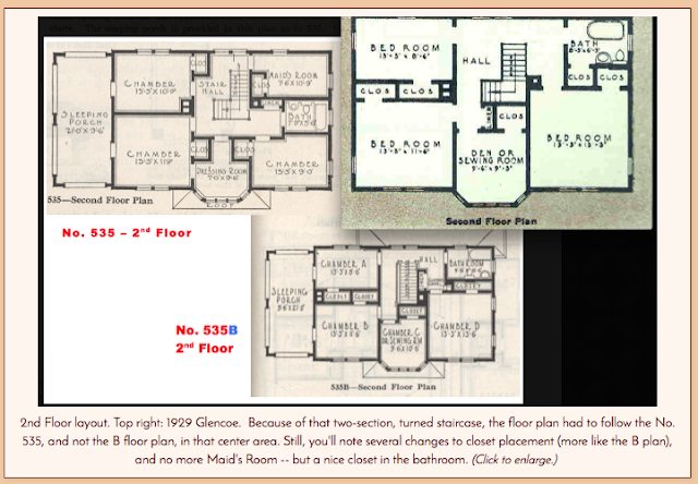gordon van tine glencoe 535 535b floor plan second floor