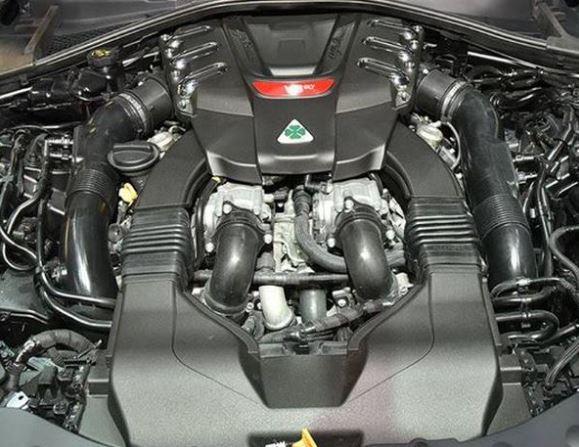 2018 Ferrari Dino Engine