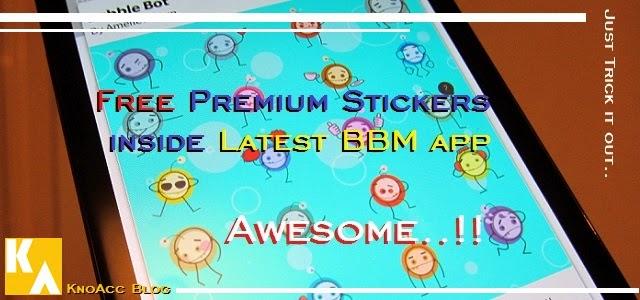 new free bbm stickers