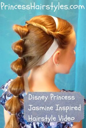 Jasmine Hair Hairstyles For Girls Princess Hairstyles