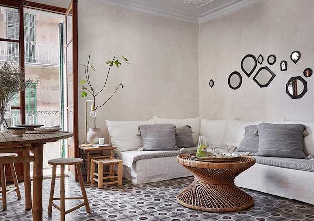 apartamento escandinavamente mediterraneo chicanddeco
