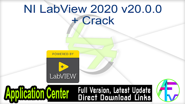 NI LabView 2020 v20.0.0 + Crack