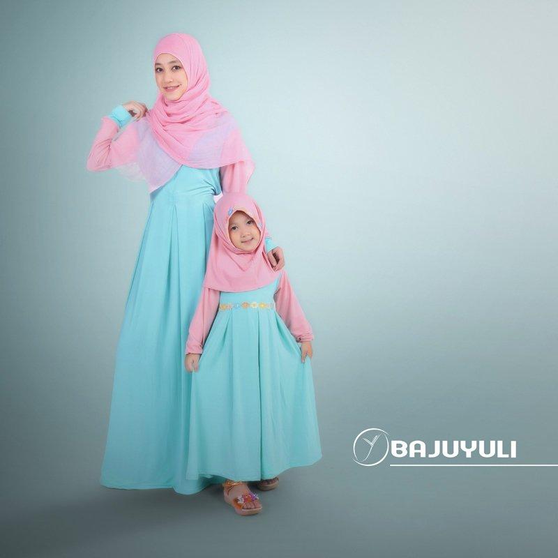 baju lebaran couple ibu anak