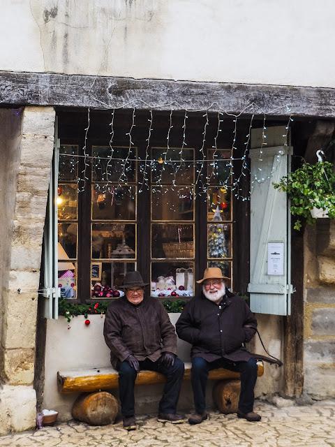 kerstmarkt in Charroux