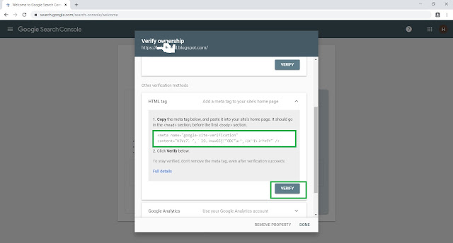 Advanced Configuration After Create a Blog and SEO settings for Blogger